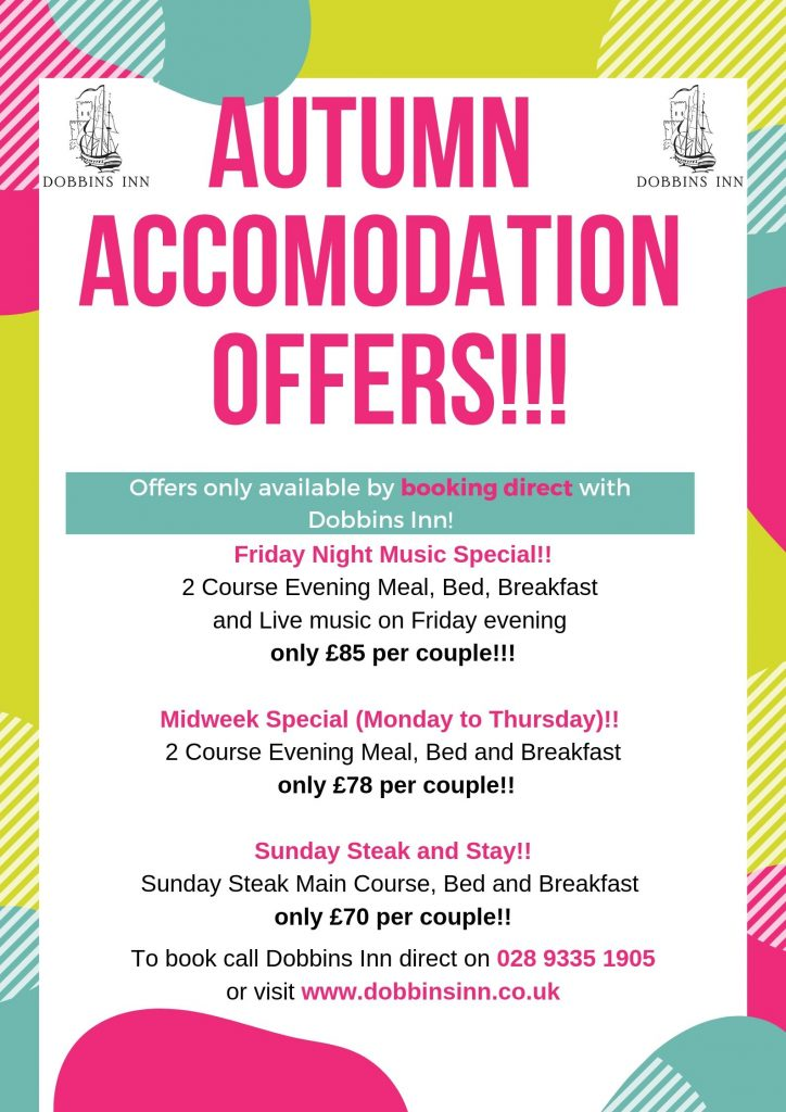 Dobbins Inn Accommodation Offer