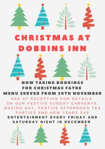 Christmas at Dobbins Inn Carrickfergus