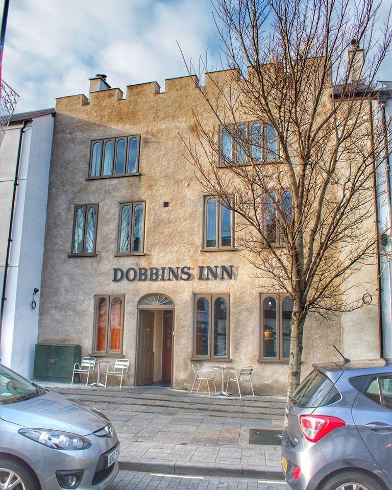 Front of Dobbins Inn hotel Carrickfergus