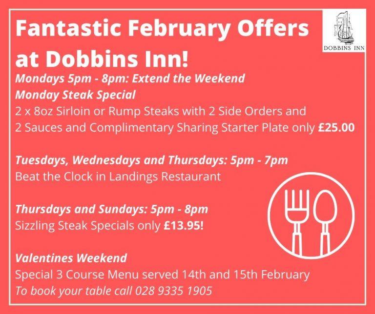 Special Food Offers Dobbins Inn